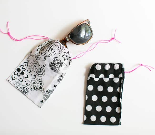 DIY Sunglass Case | 11 DIY Bags for All Your Needs