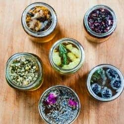 HOW TO: Flower + Fruit Infused Syrups Plus A Spring Cocktail Recipe