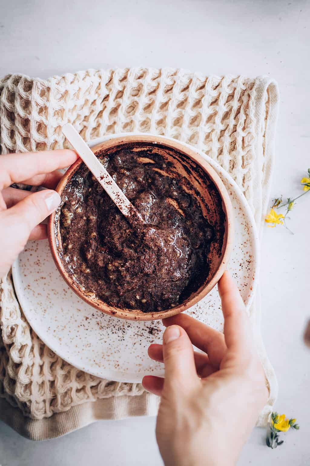 Coffee foot scrub recipe