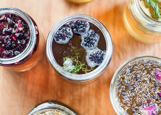 blackberry thyme syrup