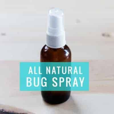 DIY Natural bug spray