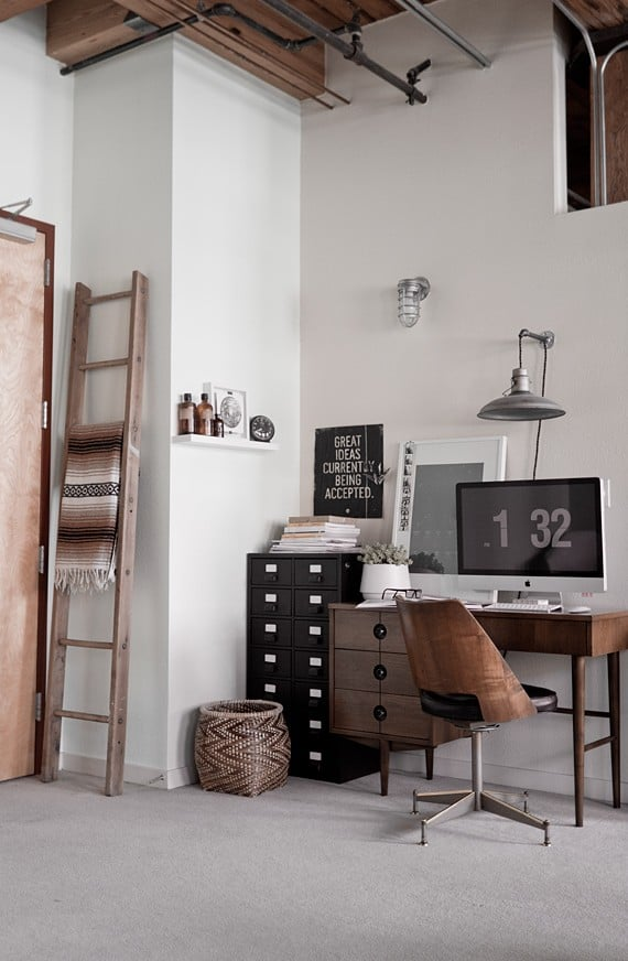 Industrial home office