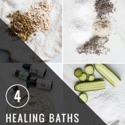 4 Healing Baths for Summer