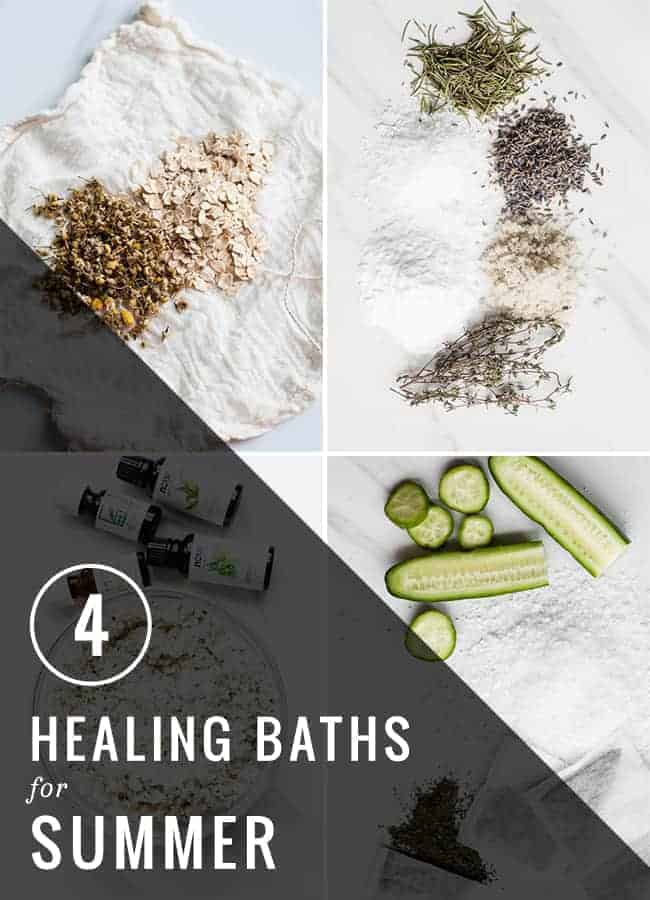 4 Healing Baths For Summer | Hello Glow