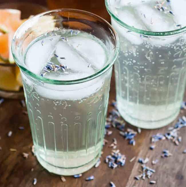 Homemade Lavender Soda