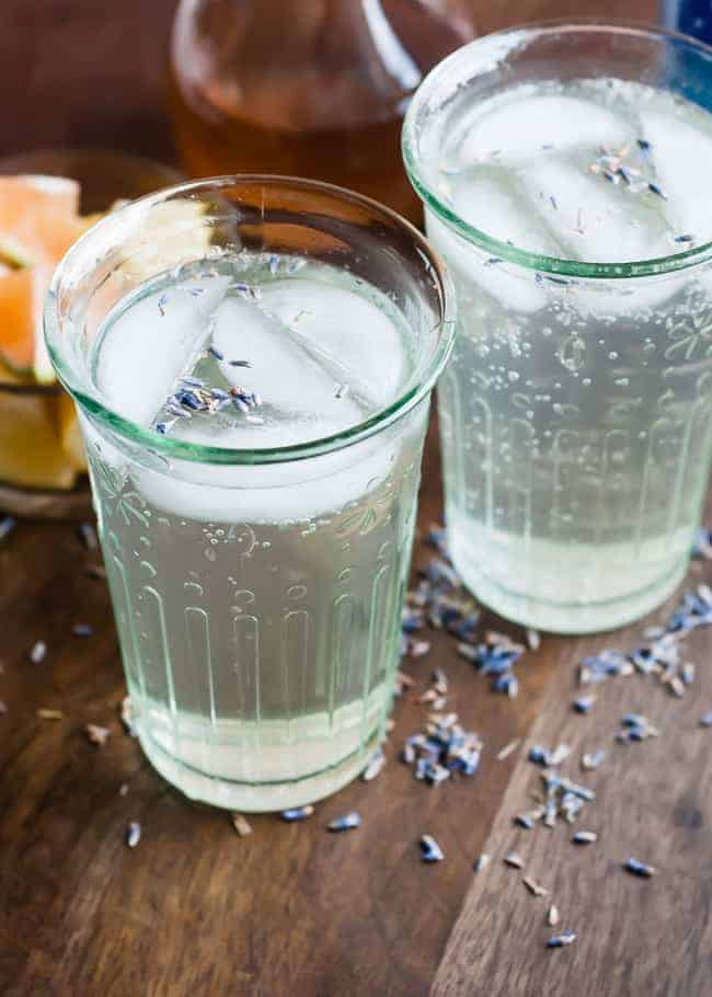 Homemade Lavender Soda
