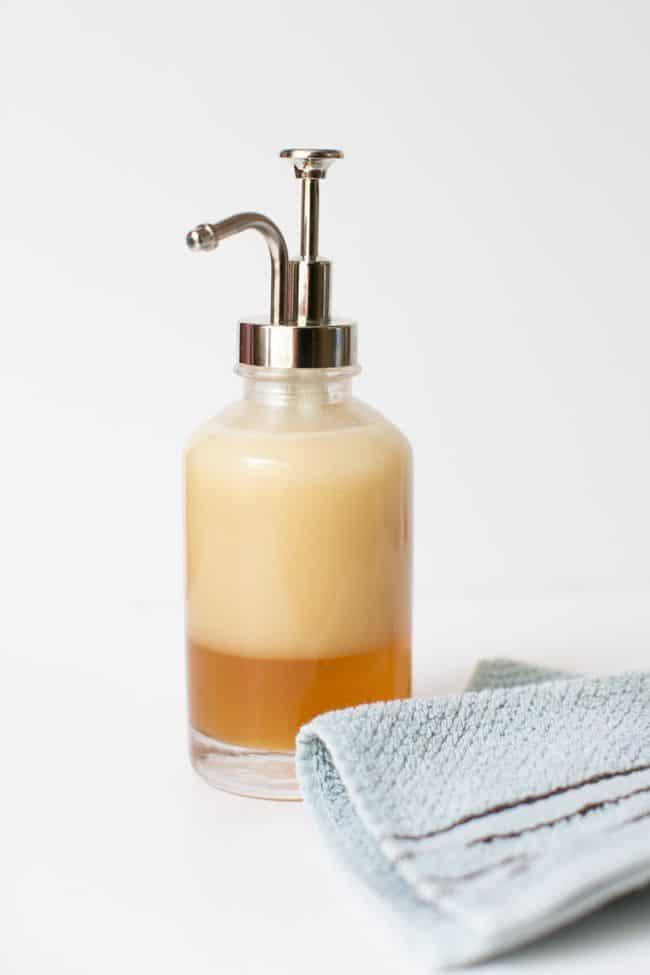 DIY Coconut OIl Body Wash | Henry Happened