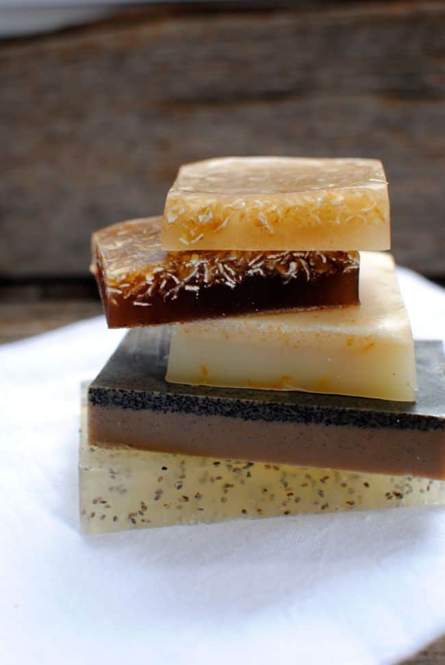 4 Recipes for Naturally Exfoliating Soap | Henry Happened