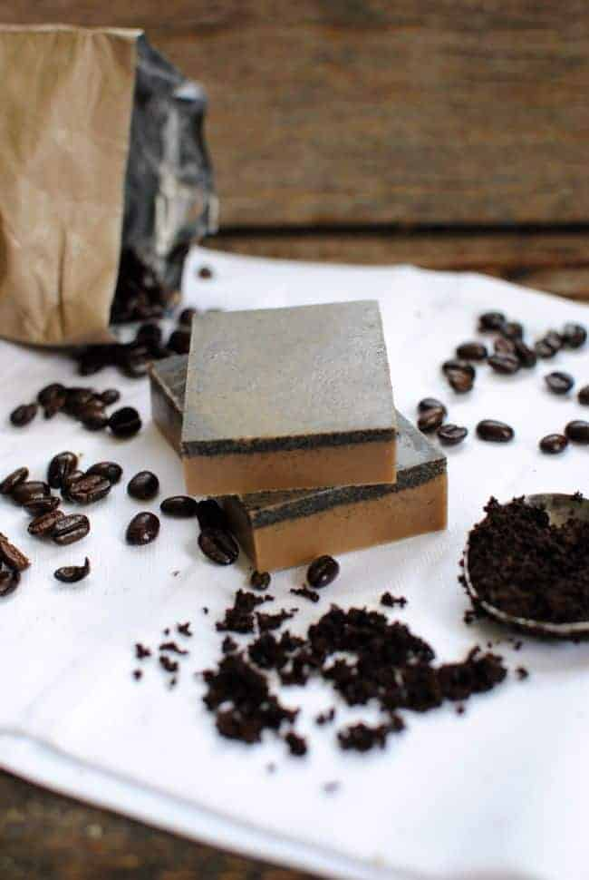 Naturally Exfoliating Soap Made with Coffee | Henry Happened