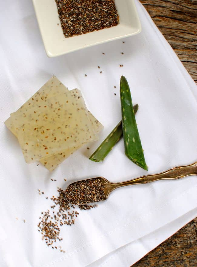 Chia Seed and Aloe Natural Exfoliating Soap | Henry Happened