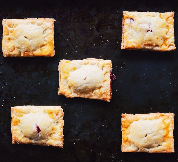 Rhubarb Raspberry Hand Pies