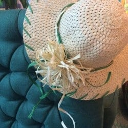 DIY: Decorated Straw Hats With Anthropologie