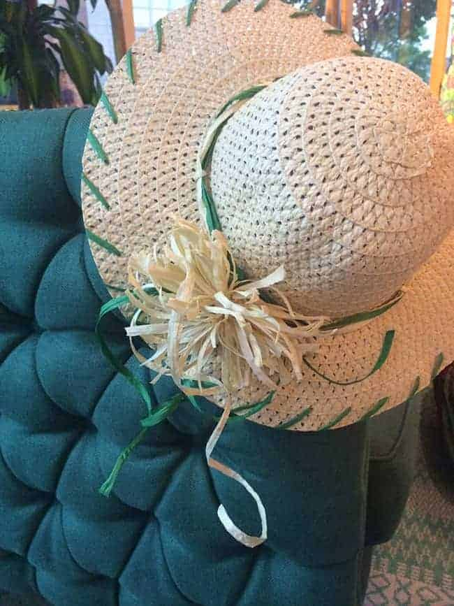 DIY Raffia Straw Hats | Hello Glow