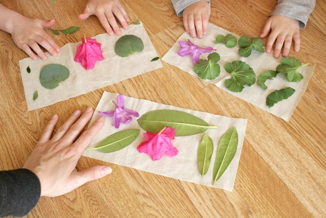 DIY Plant Dyed Eye Pillow | Hello Glow