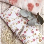 <b>DIY:</b> Plant Dyed Eye Pillow Filled With Buckwheat + Lavender
