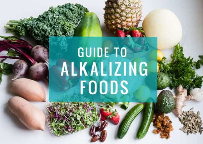 Guide to Alkalizing Foods| HelloGlow.co