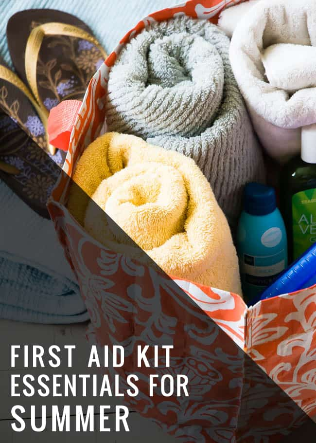 Make a Beach Bag First Aid Kit - Hello Glow