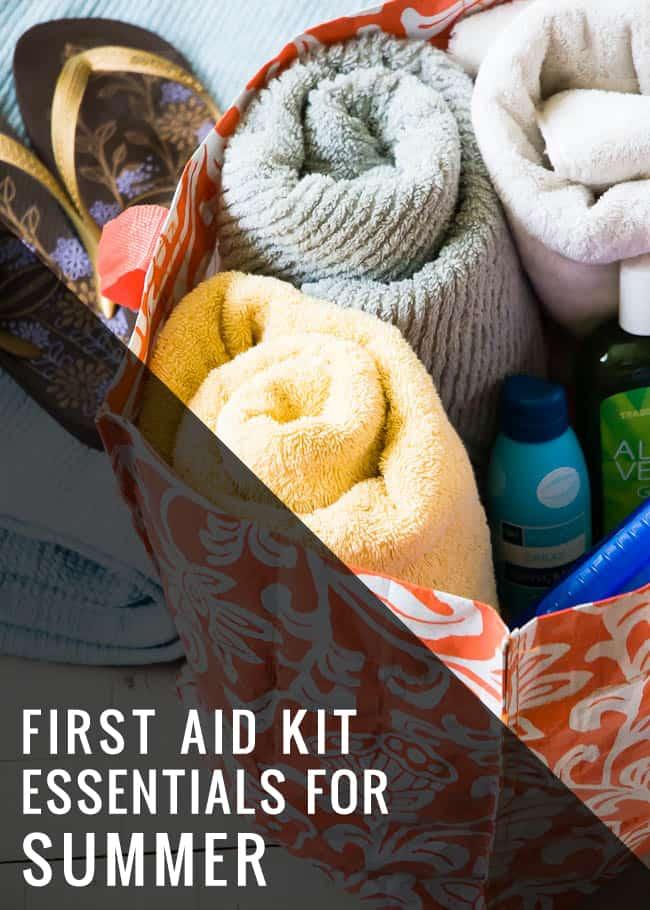 Make a Beach Bag First Aid Kit - Hello Glow