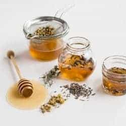 HOW TO: Make Herb + Flower Infused Honey