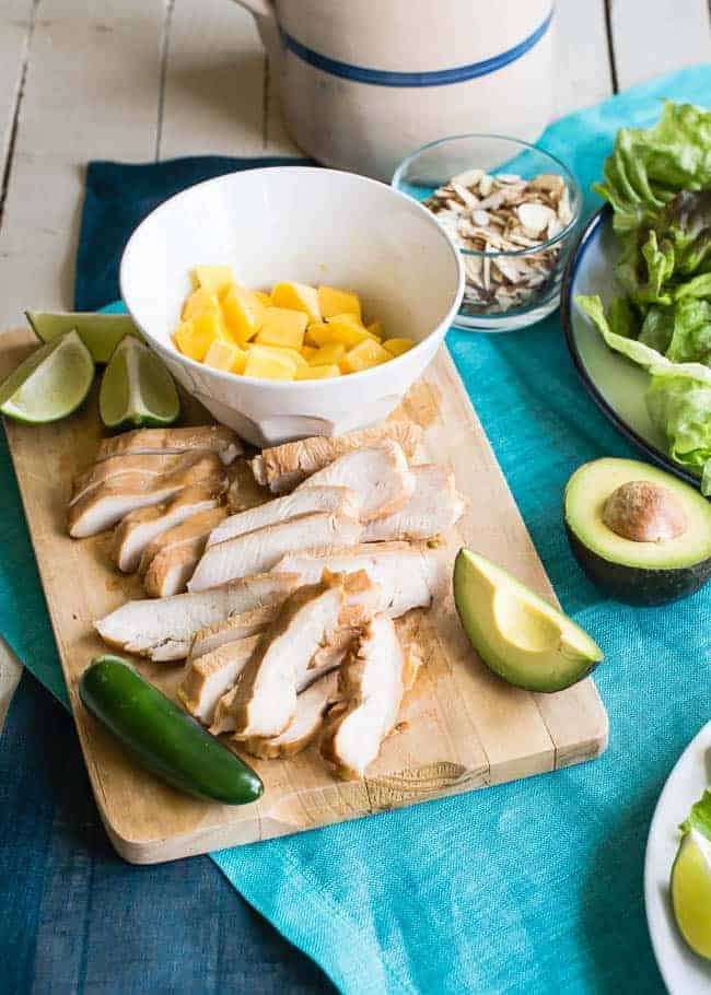 Jalapeno Lime Chicken Salad | Hello Glow