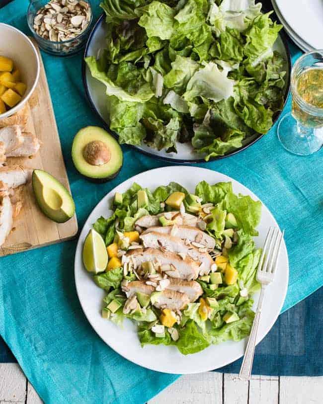Jalapeno Lime Chicken Salad | 50 Avocado Recipes