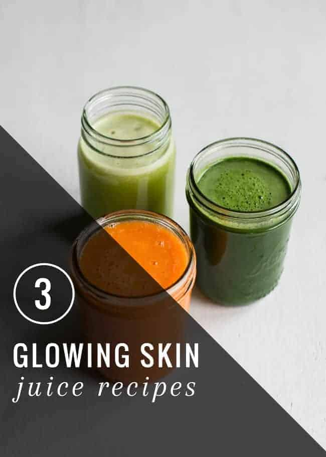 3 Juice Recipes for Great Skin | HelloGlow.co