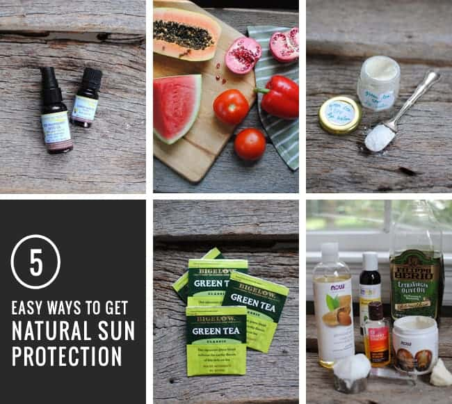 5 Ways To Get Natural Sun Protection | HelloGlow.co