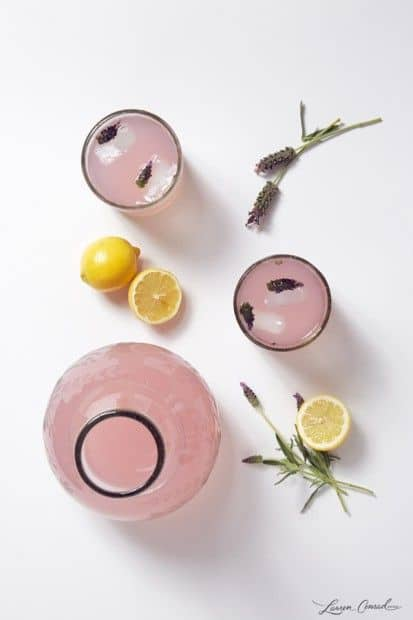 Infused lemonade