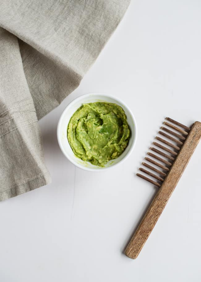 Avocado Hair Mask | Hello Glow