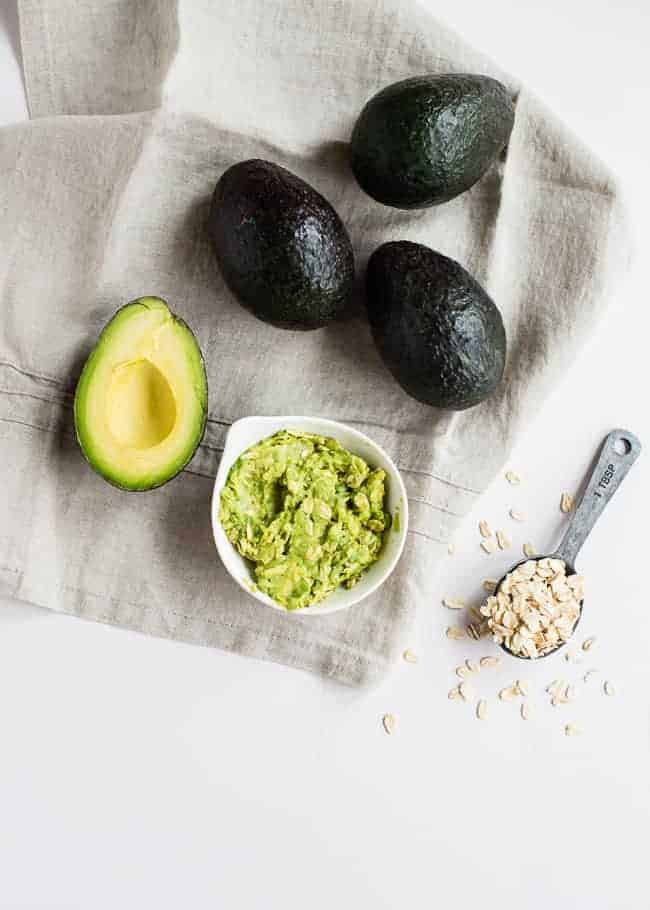 Avocado Oatmeal Facial Mask | Hello Glow