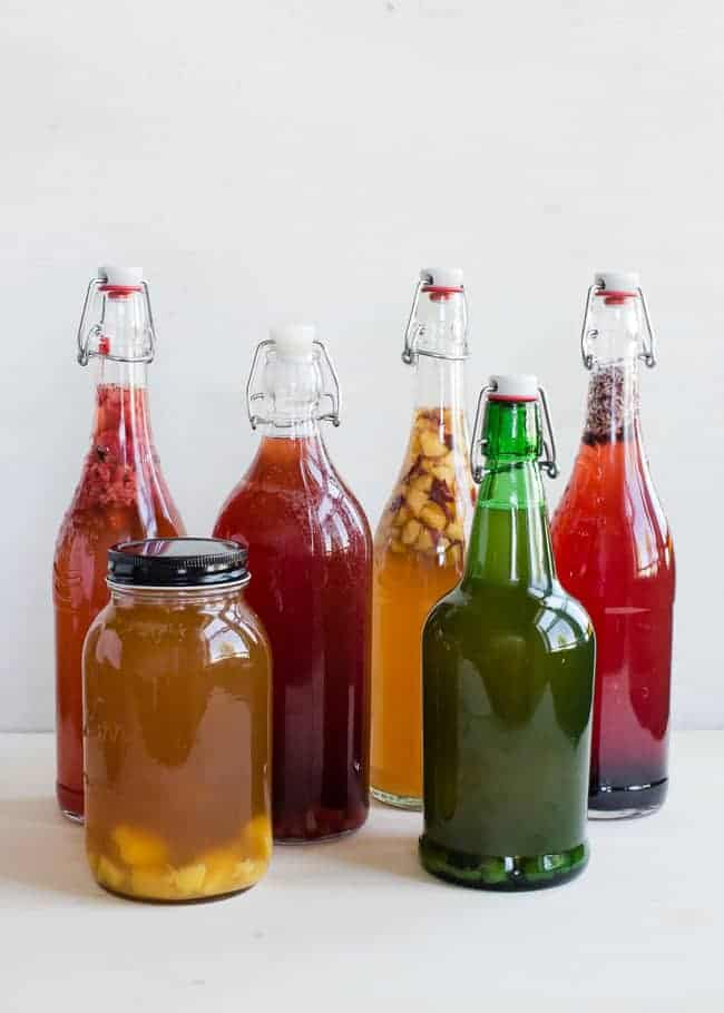 DIY Infused Kombucha | HelloGlow.co