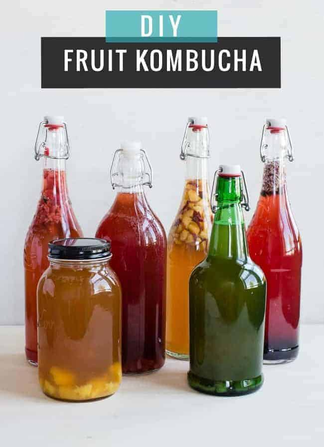 DIY Fruit Kombucha | HelloGlow.co