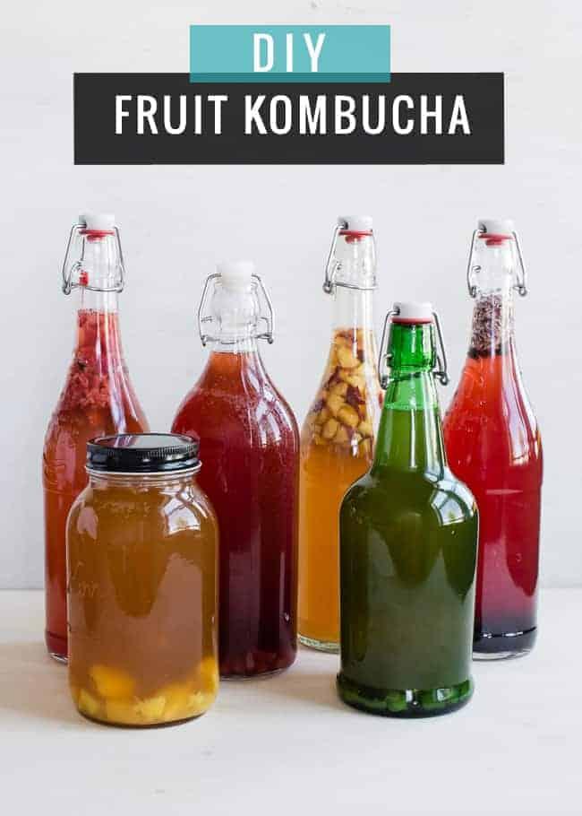 DIY Fruit Kombucha   HelloGlow.co