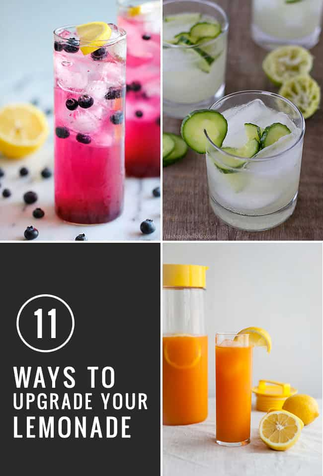 11 Lemonade Recipe Upgrades | HelloGlow.co