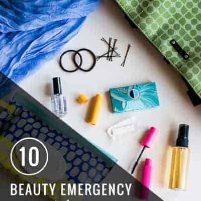 10 Beauty Emergency Essentials | Henry Happened