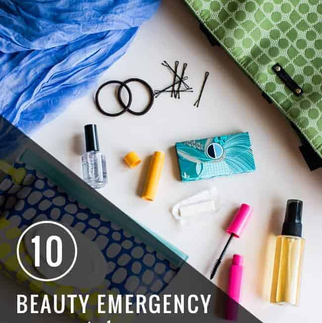 10 Beauty Emergency Essentials | Hello Glow