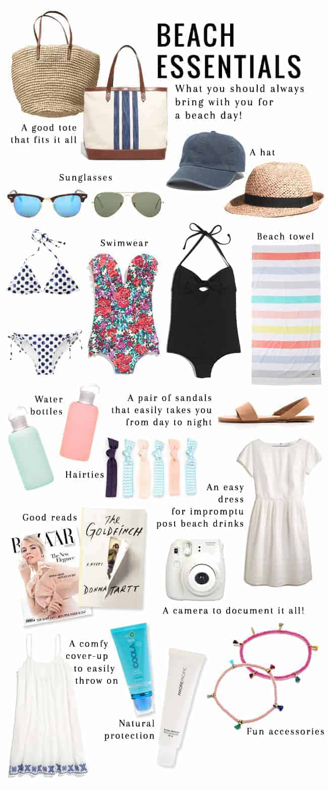 14 Essentials to Pack for the Beach| HelloGlow.co