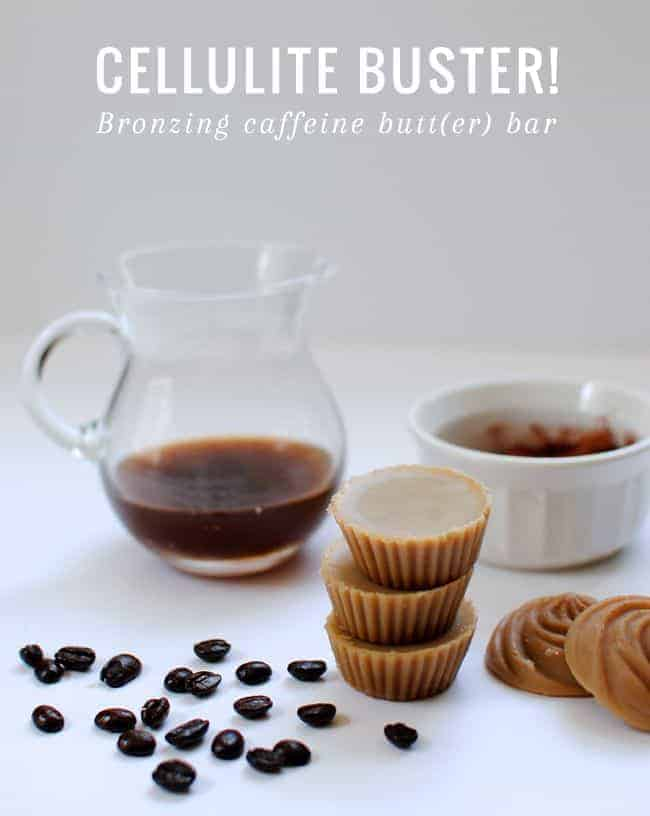 DIY Bronzing Caffeine Body Butter | HelloGlow.co