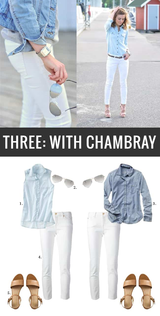 How To Wear White Jeans 3 Ways | HelloGlow.co
