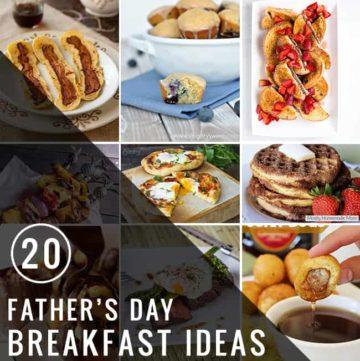 Best Father's Day Breakfast Ideas | Hello Glow