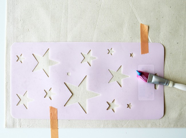 DIY 4th of July Placemats | Henry Happened