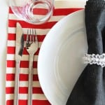 <b>DIY:</b> No Sew 4th of July Painted Placemats
