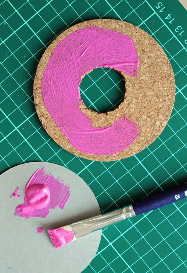 DIY Donut Coaster | HelloGlow.co