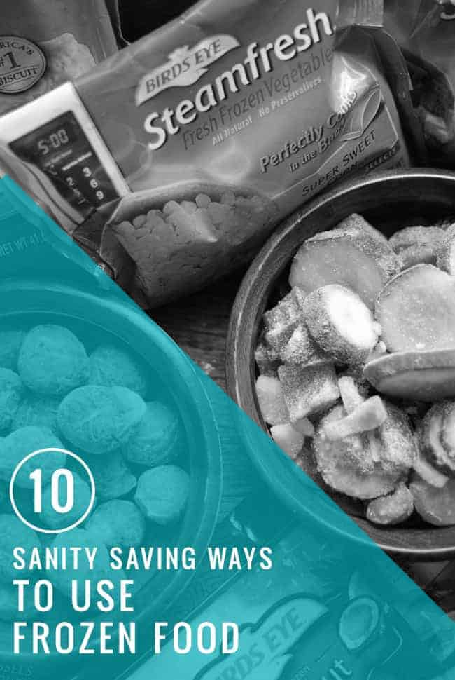 10 Sanity-Saving Ways To Use Frozen Food | Hello Glow