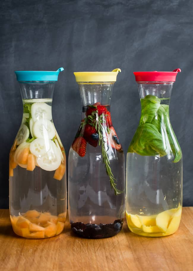 Infused Water 3 Ways | HelloGlow.co