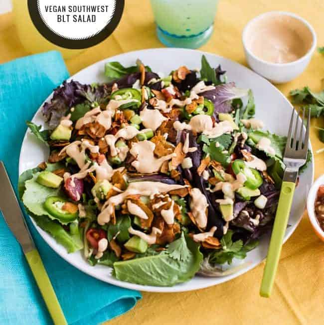 Southwest BLT Salad | Hello Glow