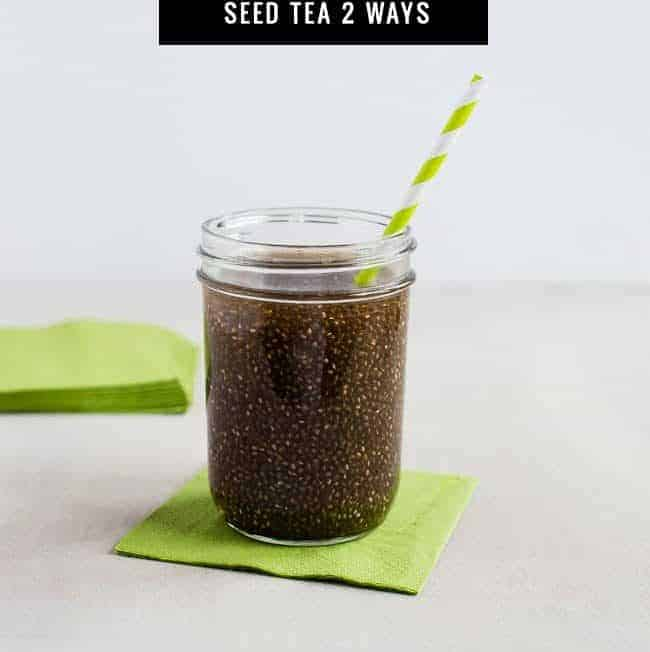 Chia Green Tea Energy Drink + Face Mask
