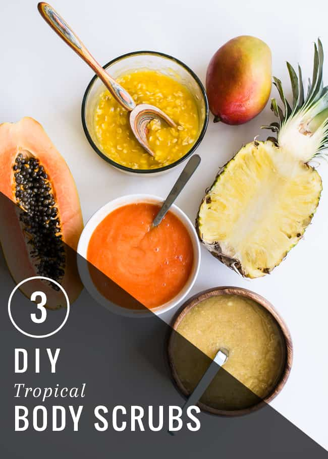 3 Tropical Body Scrubs | Henry Happened