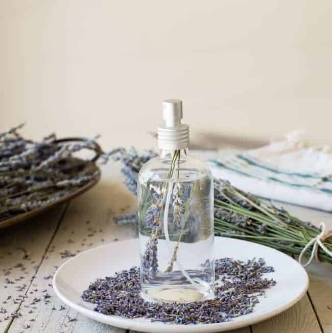 How To Dry Lavender + DIY Lavender Linen Spray