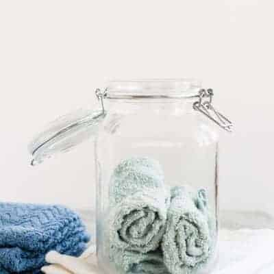 DIY natural disinfectant wipes | Henry Happened